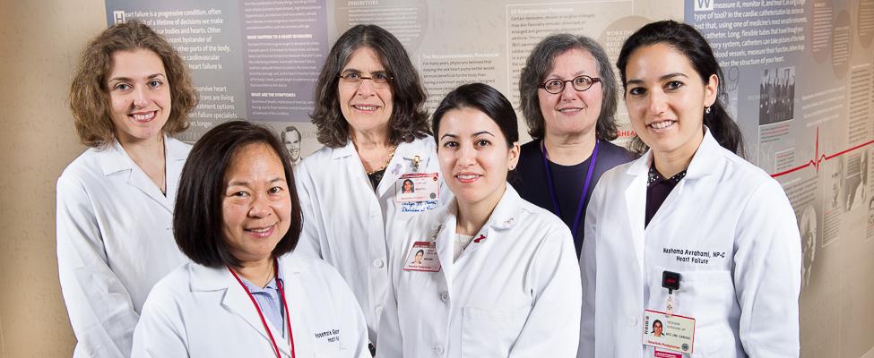 Irina Sobol, MD, Rosemarie Gadiola, ANP, Evelyn Horn, MD, Maria Karas, MD, Sylvia Gottlieb, Nashama Abrahami, NP